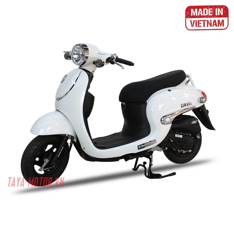 Xe tay ga 50cc Giorno Luxury (màu trắng)