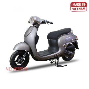 xe máy 50cc tay ga giorno màu ghi