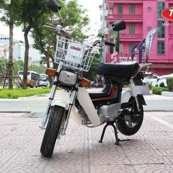 Xe máy chaly 50cc màu đen