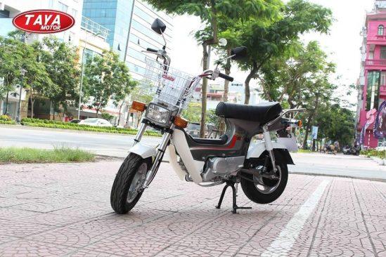 Xe máy chaly 50cc màu ghi