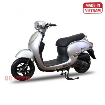 xe máy 50cc tay ga giorno bạc
