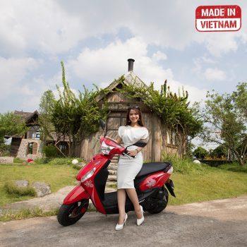 xe máy 50cc tay ga mini đỏ