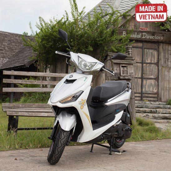 xe máy 50 city trắng