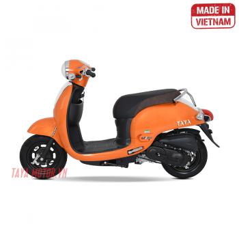 xe máy 50cc tay ga giorno màu cam