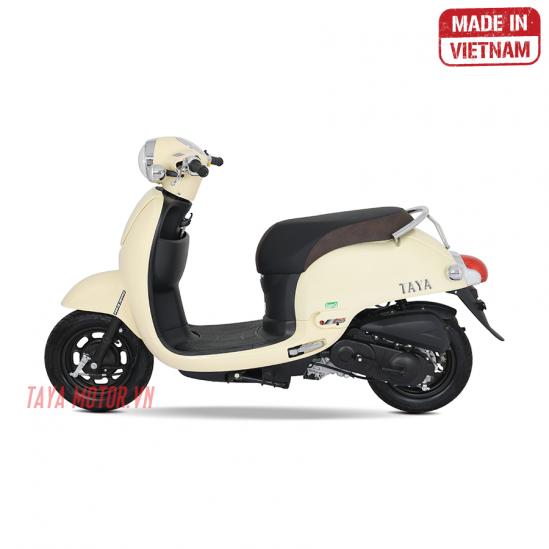 xe máy 50cc tay ga giorno kem