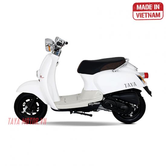 xe máy 50cc tay ga crea trắng